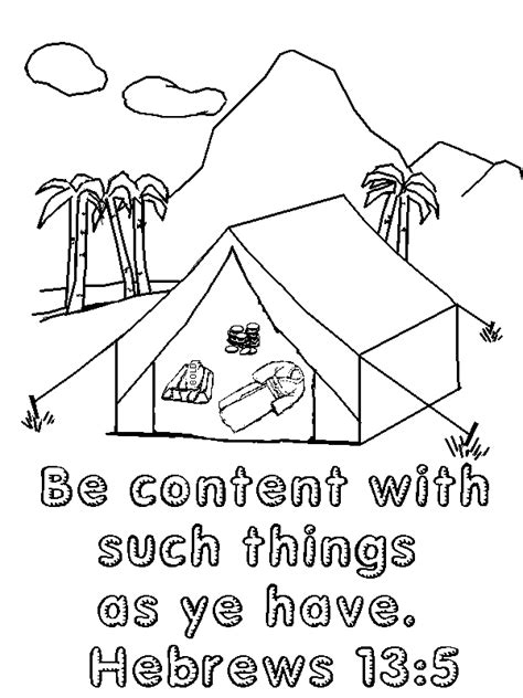 Joshua 7 Coloring Pages by Coloring Pages For Bible Story Of Achan Coloring Pages