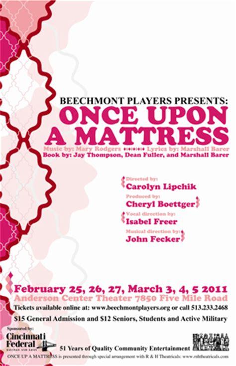 Once Upon A Mattress Lyrics by Once Upon A Mattress Beechmont Players Inc