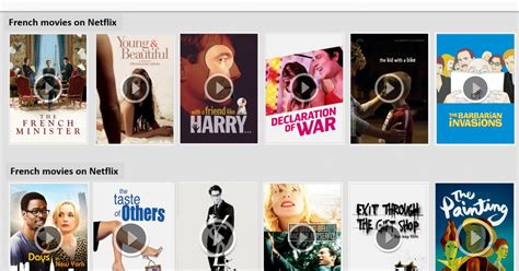 film streaming netflix 12 films francais en streaming sur netflix lostinsf