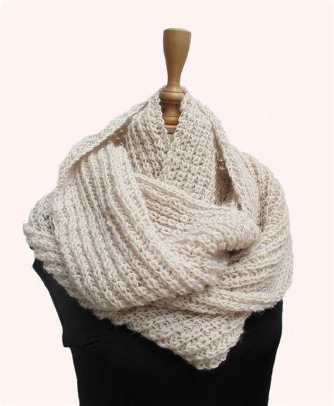 knitted infinity scarf pattern knitting patterns infinity scarf www imgkid the