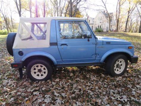 Suzuki Jimny For Sale Canada Buy Used 1985 Suzuki Jimny Sj410 Samurai 88k Original