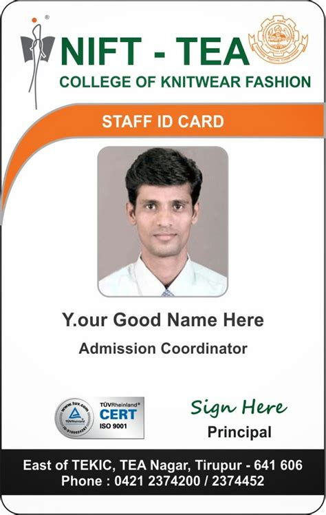 College Id Cards Templates by Id Card Coimbatore Ph 97905 47171