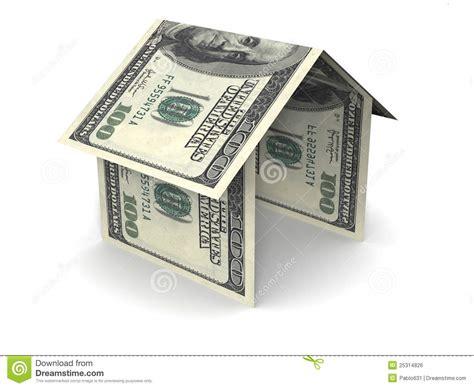 haus geld geld haus lizenzfreies stockbild bild 25314826