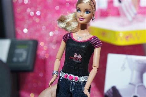 design doll camera fashion and tech converge on barbie s photo fashion doll
