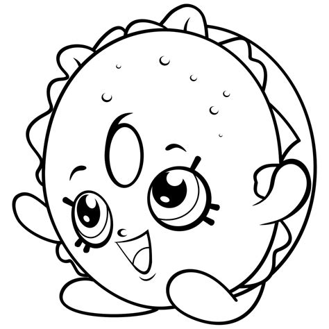 coloring pages of all the shopkins shopkins coloring pages colouring pages pinterest