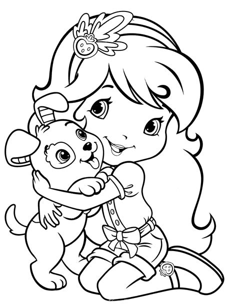 strawberry shortcake 73 coloringcolor com