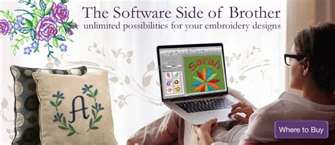 design works embroidery software brother international home sewing machine and embroidery
