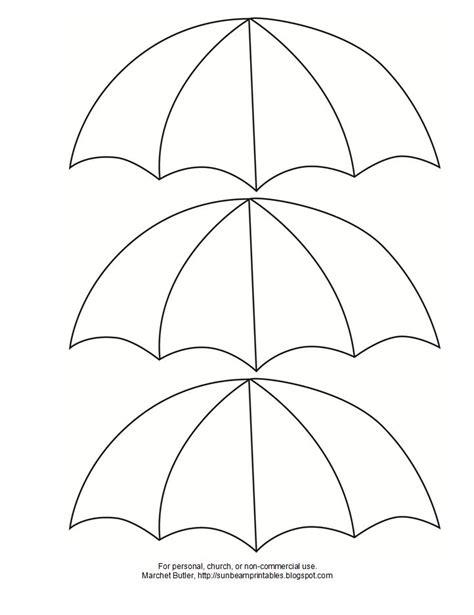 umbrella pattern for preschool printable umbrella