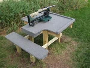 shooting bench design pin by tim barker on guns and gear pinterest