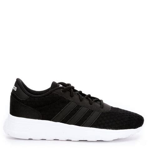 adidas black sneakers womens best sales adidas neo lite racer sneaker in black womens