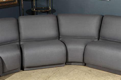 Semi Circular Sofas Sectionals Semi Circular Modular Sofa By Knoll At 1stdibs