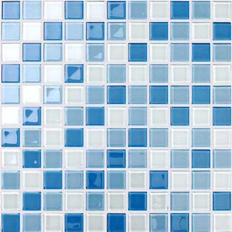 blue and white ceramic tile backsplash wholesale glass mosaic for swimming pool tile blue white mix backsplash decorative