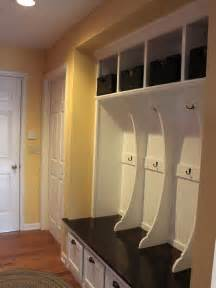 hall closet turned mudroom organize pinterest