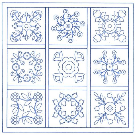 pin free applique quilt block patterns printable blocks