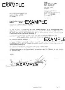Letter Of Credit Vs Loan Payment Guarantee Letter Format Gallery Letter Sles Format