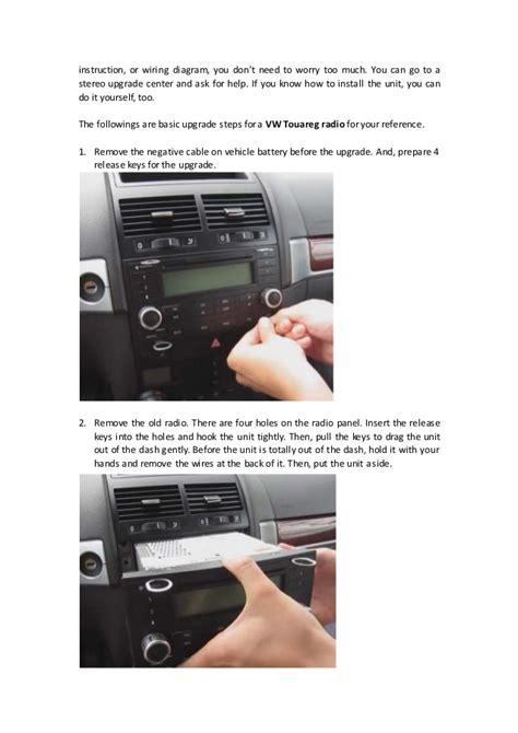vw touareg radio wiring vw free engine image for user