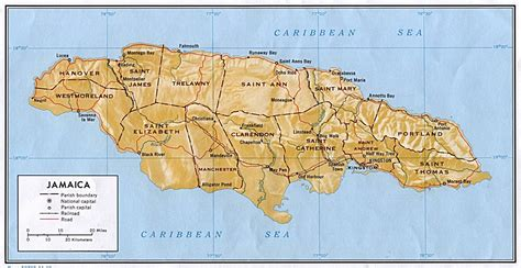 Finder Jamaica Jamaica Map Travel Information Holidays Hotels