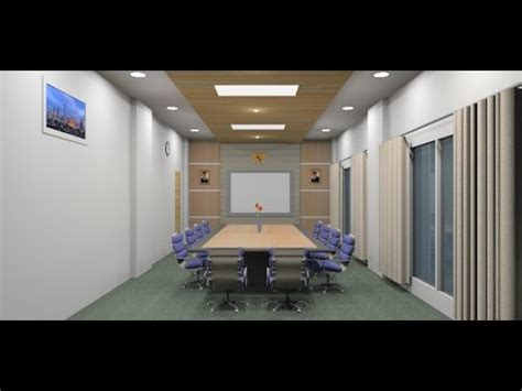sketchup tutorial interior design   meeting room
