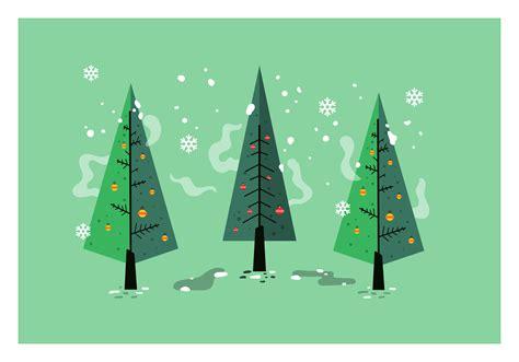 mid century christmas tree vector   vectors