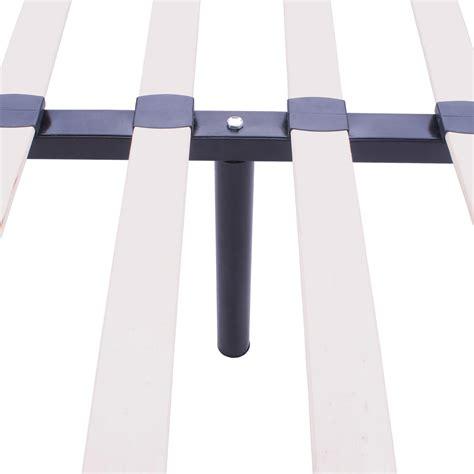 wood bed frame legs wood slats metal bed frame king size rust resistant wooden