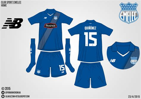 Oceansevenstore Kaos Fantastic Factory 5 club sport emelec home kit new balance alakazzam kit design