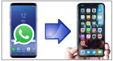 transfer whatsapp chats  android  iphone xs