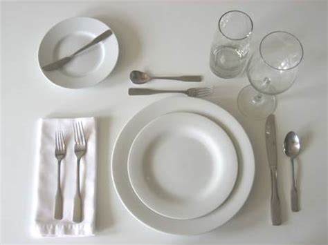 Setting A Table Correctly by Mcintyre Interiors December 2010
