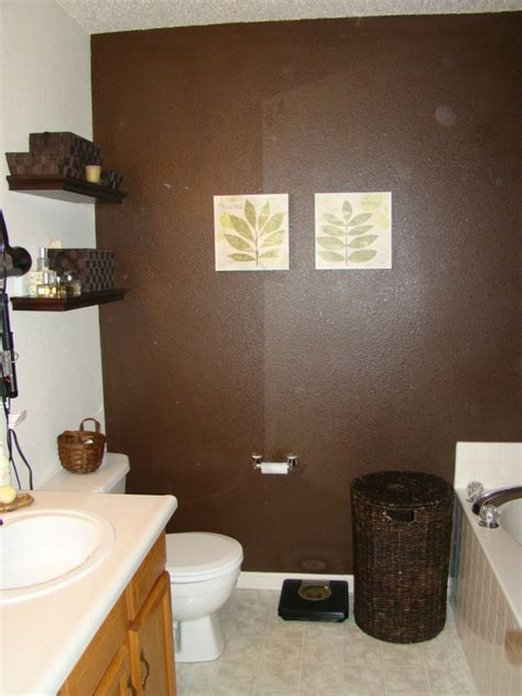 bathroom color schemes brown decor trends cool