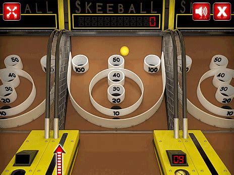 skee ball skee ball game play online at y8