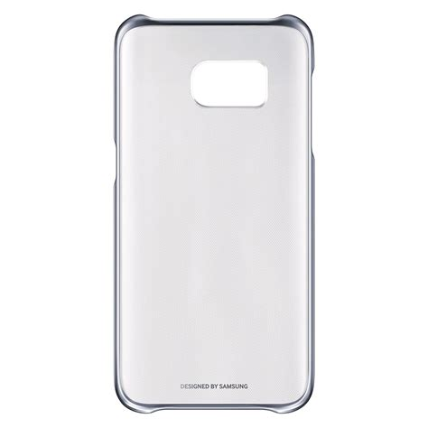 Clear Cover by Samsung Galaxy S7 Clear Cover Ef Qg930 Black Expansys
