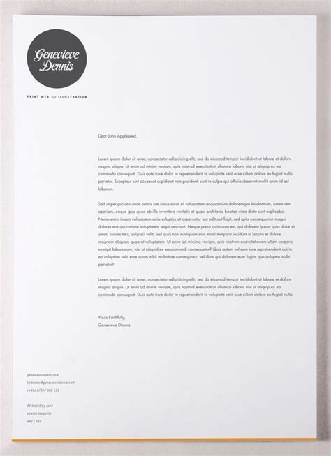 Business Card Template Letter Ai by Letter Template Illustrator Business Letter Template