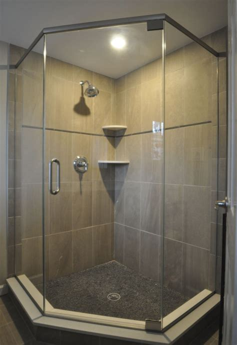 Stand Up Shower Glass Door 17 Best Images About Decor Ideas For Master Bathroom On Pinterest Clever Bathroom Storage