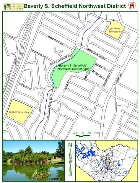 sheffield texas map beverly s sheffield northwest district park map 7000 ardath st mappery