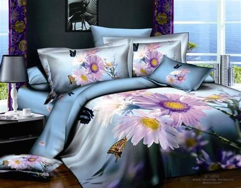 Cotton King Comforter Set by New Beautiful 4pc 100 Cotton Comforter Duvet Doona Cover