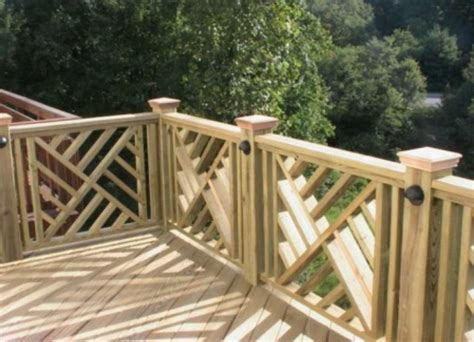 stunning wood porch railing designs home design
