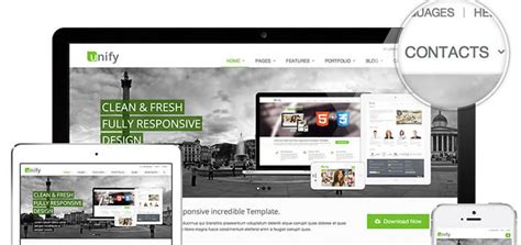 bootstrap themes unify unify ultra responsive bootstrap 4 framework html template