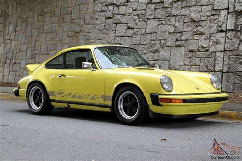 Porsche 911 Carrera 1974 by Rare 1974 Porsche 911 Carrera Real Carrera 3 0l In