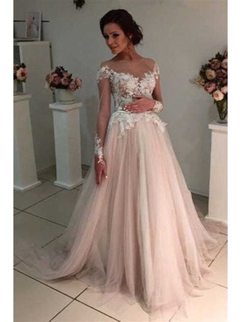 Sleeve Lace Sheer Dress sleeves lace sheer wedding dresses bridal gowns 99603223
