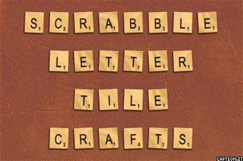 scrabble tiles craft scrabble tile crafts