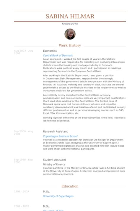 Resume Samples Skills by 233 Conomiste Exemple De Cv Base De Donn 233 Es Des Cv De Visualcv