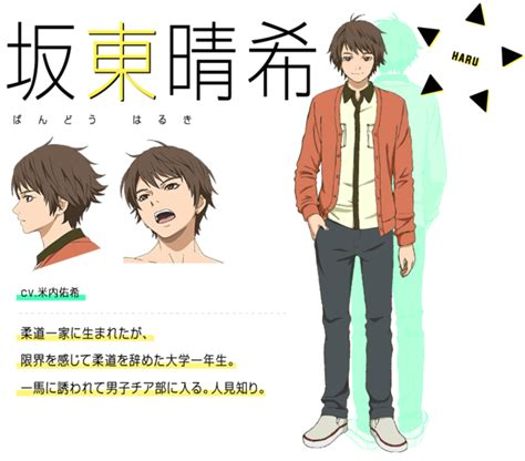 Novel Cheer Boy crunchyroll quot cheer boys quot tv anime shows its spirit in july of 2016