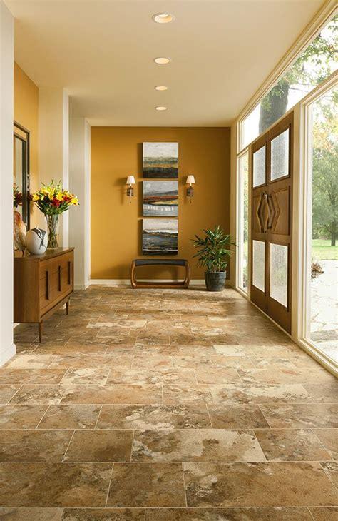 kitchen entryway ideas armstrong luxury vinyl tile lvt travertine look