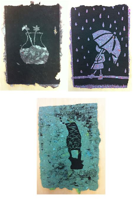 Printing On Handmade Paper - wood block printing on handmade paper adelle