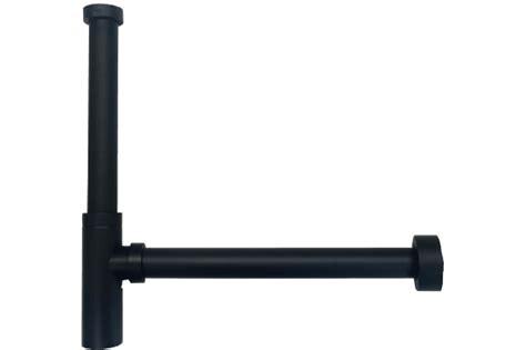 vertical extension pipe  au bottle p trap matte
