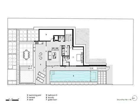 new house design with floor plan modern open floor house plans modern house dining room