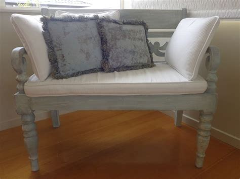 chalk paint bench painted bench newton s chalk paint duck egg blue and