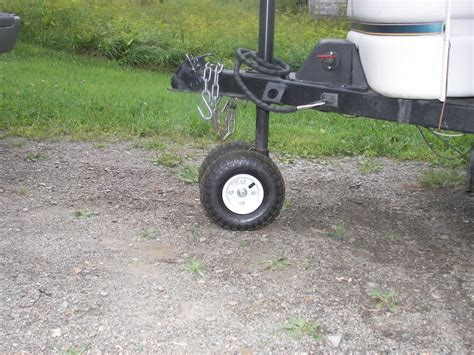 boat trailer jack with pneumatic tire trailer tongue jack popupportal