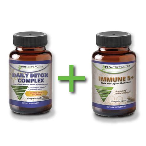 Stat Royal Flush Detox by Daily Detox Complex Immune 5 With Organic Blend