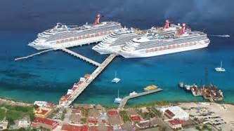 cozumel cruise terminal expansion completed this is cozumel