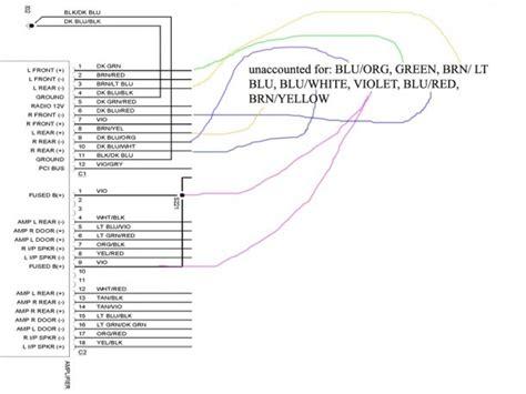 dodge ram  stereo wiring diagram